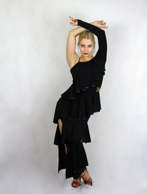 Open Leg Dress